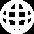 Globe Icon White